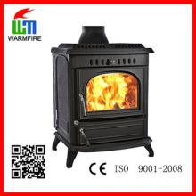 Modelo WM704A, lareiras de queima de madeira da jaqueta de água, fogões