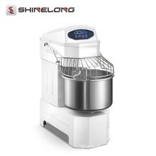 Doppelte Geschwindigkeit Spiral Mixer 20 Liter Industrie Kuchen / Brot Knetmaschine
