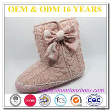 Wholesale cheap fashion pretty cozy bedroom slippers boots for girls