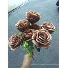 Colorful Cheap Rose Artificial Flower Fordecoration