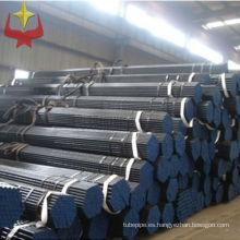 DIN 1629 st.37.0 acero tubo/pipa tamaños/pipa de acero inconsútil acero