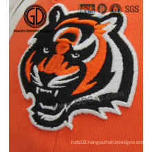 High Image Fidelity Tiger Embroidery Badge for Cap, Clothing