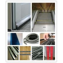 2 eixos de alta velocidade CNC máquina de escova de tira automática / máquina de escova de elevador / máquina escova de porta