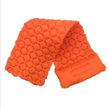 TPU Air Inflatable Sleeping Mat With Good Air Tightness Laminated Fabric For Outdoor Camping Mattress
