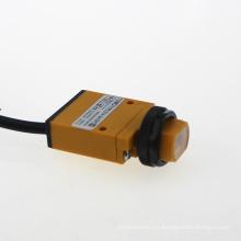 Sensor de interruptor fotoeléctrico cuadrado retrorreflectivo difuso tipo G14 a través de la viga