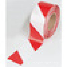 common length 200m red and white pe warning tape