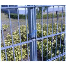 Clôture enduite de double fil de PVC (TS-J04)