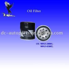 filtro de óleo para Chrysler, Lexus, Suzuki, Toyota 90915-20001