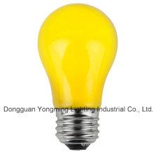A15 Bombilla incandescente 15W / 25W / 30W con pintura amarilla