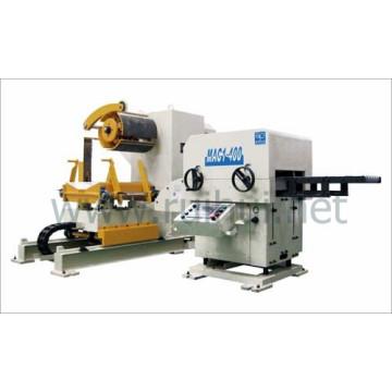 Alimentador automático de hoja de bobina con enderezadora para línea de prensa en el OEM principal de automoción