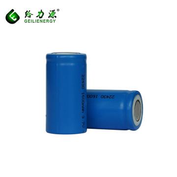 Heißer Verkauf wiederaufladbare 3,7 V 1600 mah batterie 22430 batterie lithium-ionen
