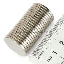 Disc Magnet D12.7X3.175 com fita adesiva