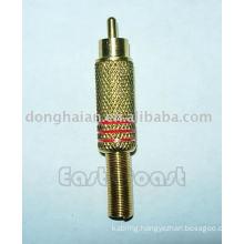 rca plug gold plated