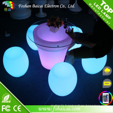 Colorful Plastic LED Chair Bcr-310t