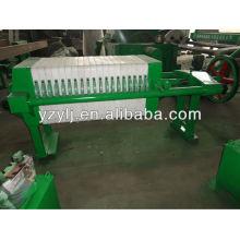 450 Manuelles Einspannen PP Kammerpressenfilter für die Metallurgie