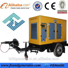 HOT SALE FOR Mobile trailer 20KW CHONGQIN ENGINE
