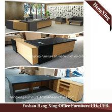 (HX-NT3102) Oak Big Size Office Desk Modern MDF Office Furniture