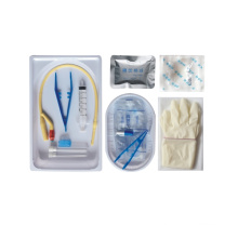 Kit de cateterização uretral descartável para uso cirúrgico