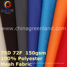Mesh 100%Polyester Knitted Fabric for Sportswear Shirt (GLLML400)