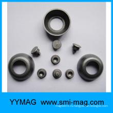 Пользовательский магнит FeCrCo / Гвоздь, брусок, диск с отверстиями