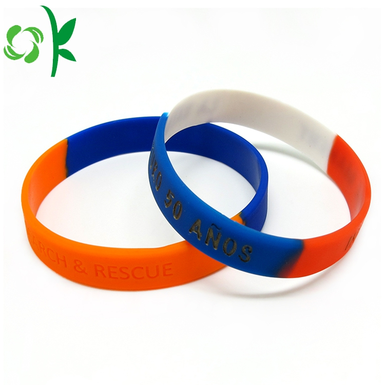Mixed Color Silicone Wristbands