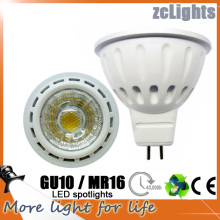 Spot LED GU10 MR16 COB 6W Lampe LED (MR16-A6)