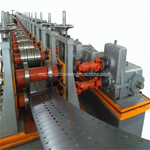 Sistem Shelf Rak Roll Roll Forming Machine