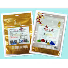 Plastic 3 Sides Seal Zipper Red Dates Packaging