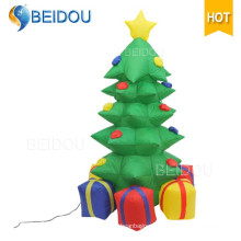 Wholesale Christmas Trees Lighting Giant Inflatable LED Christmas Tree