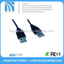 Hochwertiges nagelneues 1.5M 5Ft USB 2.0 A-Mann zum A-weiblichen Verlängerungskabel