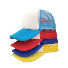 Low price mesh 5 panel  baseball cap no print custom caps logo baseball