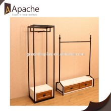 Factory directly Competitive price Fashion Metal Clothing Display Stand for 2015