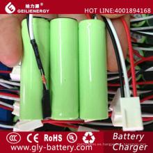 Las baterías recargables de la fábrica de Geilienergy embalan aa ni-mh 1800mah 3.6v