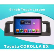 Reproductor de GPS GPS para Toyota Corolla Ex de 9 pulgadas de pantalla táctil