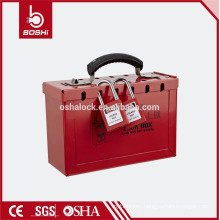BD-X01safety box High Capacity Group Box Safety Lockout Kit safety box
