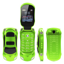 1.77 Inch Flip and Car Shaped Desgin NEWMIND F15 Very Small Size Mobile Phone
