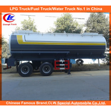 30m3 Chemical Liquid Trailer for 20m3 Acid Delivery Tanker