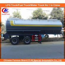 Reboque 30m3 químico líquido para o petroleiro 20m3 ácido da entrega