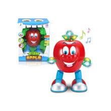 Niños de dibujos animados a pilas de juguete baile de manzanas (h4871011)