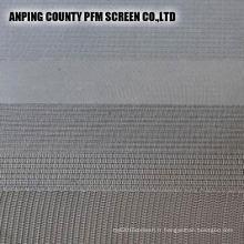 Feuille de filtre de cylindre de filtre de maille métallique frittée pour le liquide