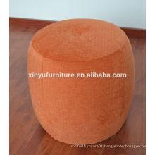 orange round dressing ottoman for hotel XYN2710