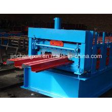 Máquina formadora de cubiertas de acero