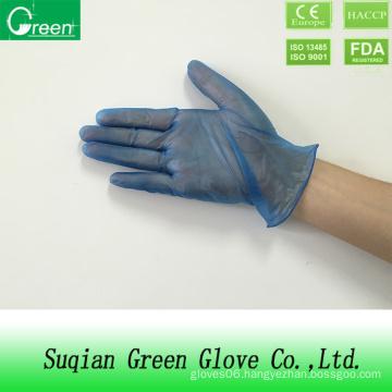 Cheap Vinyl Blue Disposable Gloves