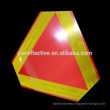 Custom factory sale PVC lighted safety road signs reflective sticker for warning