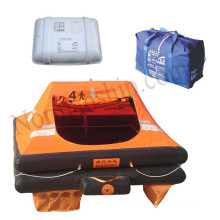 High quality 4 person life raft ISO standard inflatable life raft yacht liferaft