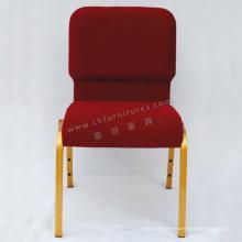 Mobília da cadeira da igreja do tubo do ouro (YC-G31-01)