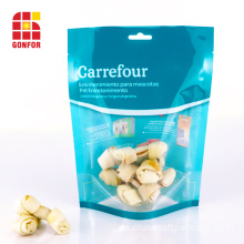 Carrefour Dog Treat Bag mit klarem Fenster