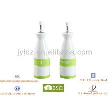 Öl und Essig Flaschensatz