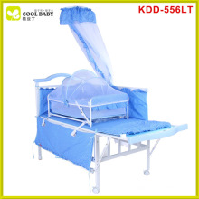 EN1888 high quality frame china blue pink brown baby crib decorations