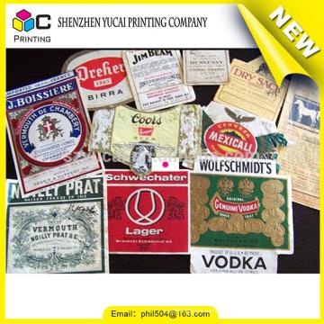 Impressão de adesivos de Natal para fornecedores de China e impressão de etiquetas de alta qualidade